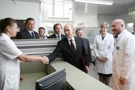 Владимир Путин пожелал удачи красноярским кардиохирургам