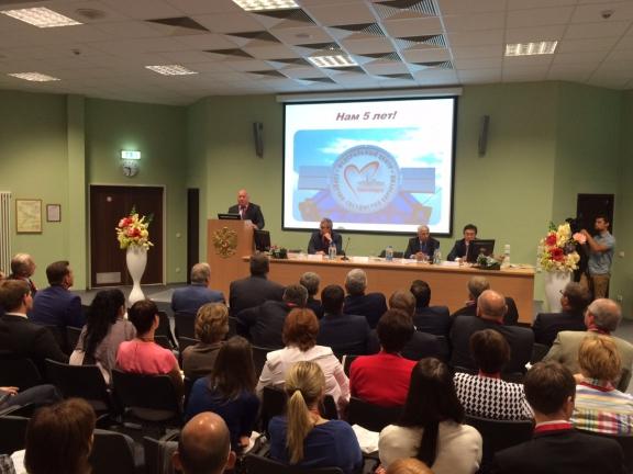 Виктор Толоконский открыл всероссийскую конференцию по детской кардиохирургии и поздравил Кардиоцентр с 5-летием работы