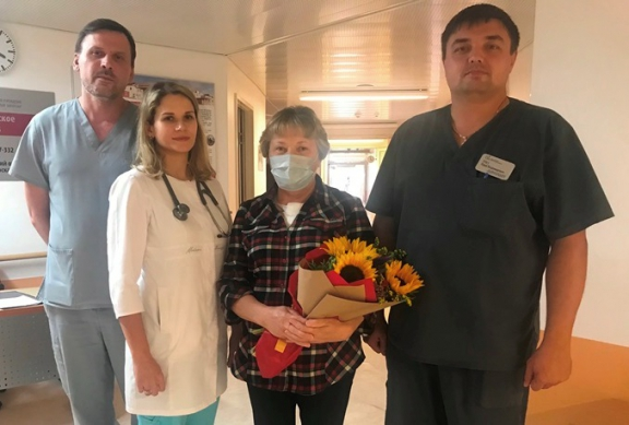 Из федерального Кардиоцентра Красноярска выписана первая женщина с донорским сердцем